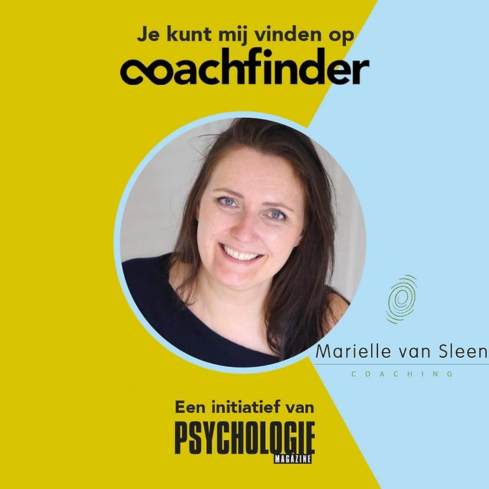 Coachfinder - Marielle van Sleen Coachin