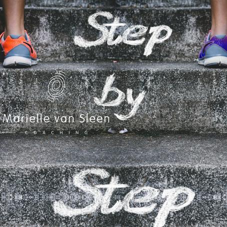 Kleine stapjes... Maken het verschil!