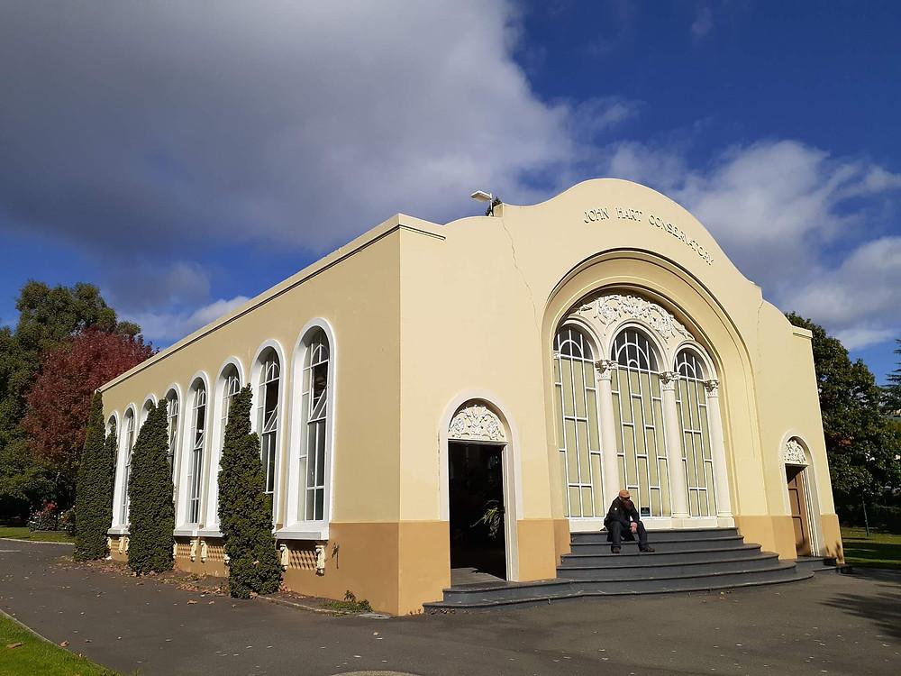 John Hart Conservatory in City Park, Launceston
