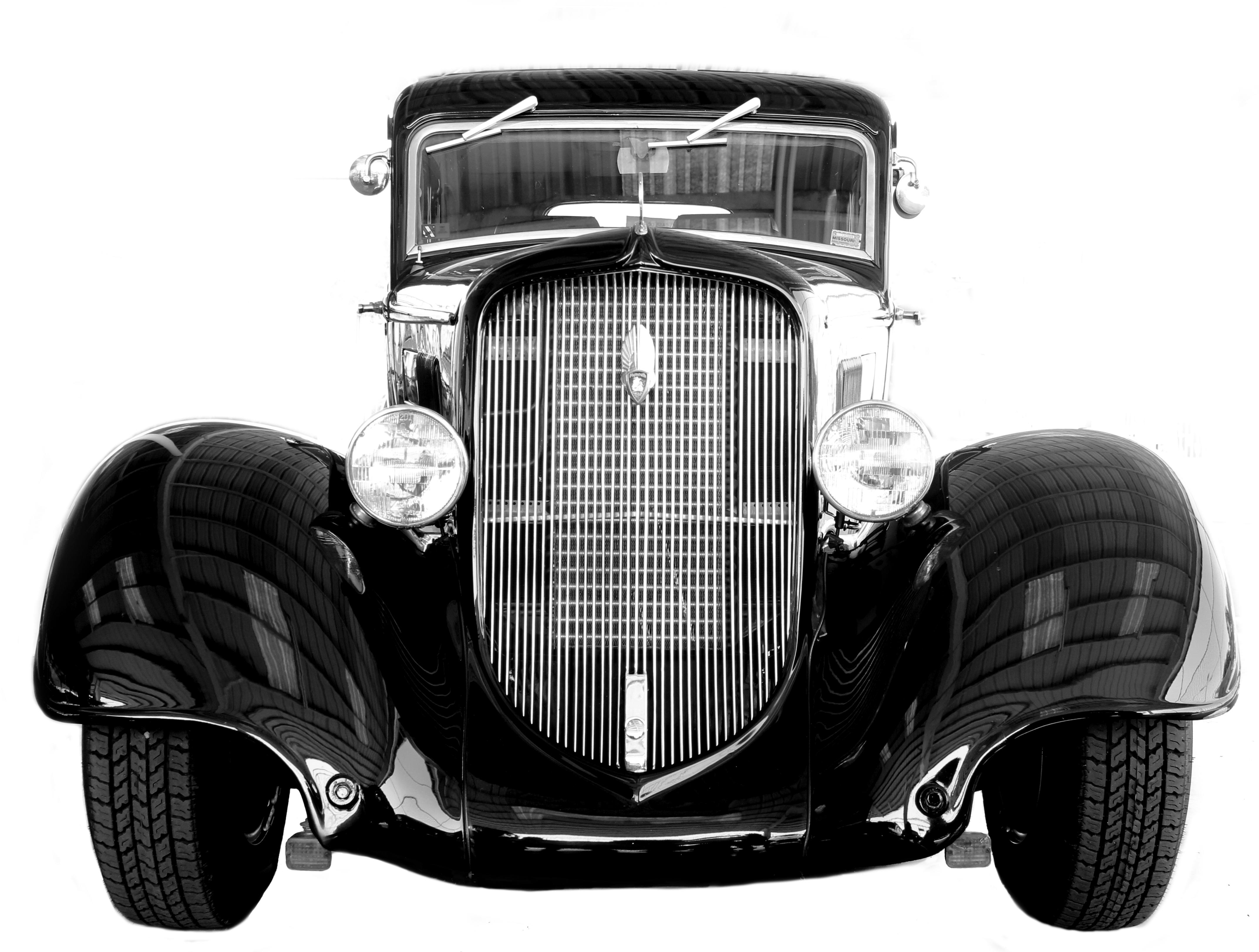 Antique Show Car