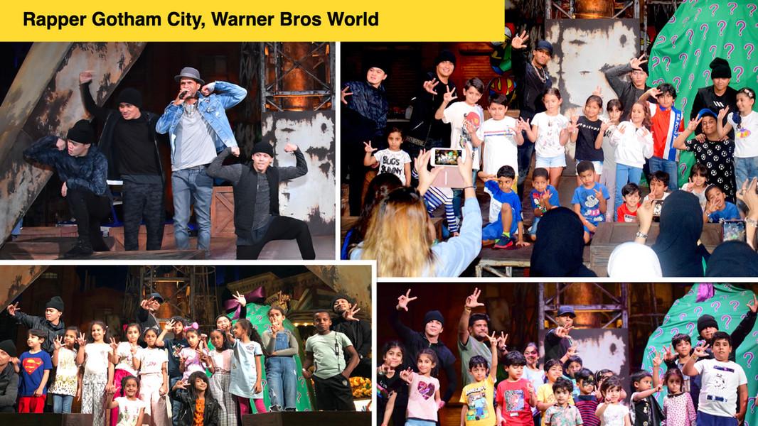 Rapper, Warner Bros World