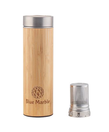 Beautiful eco friendly Bamboo drinks flask