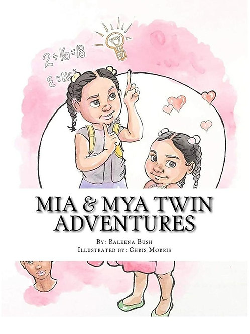 Mia and Mya Twin Adventures - Two Story Book