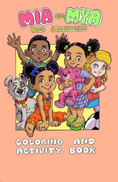Mia & Mya Coloring and Activity Book
