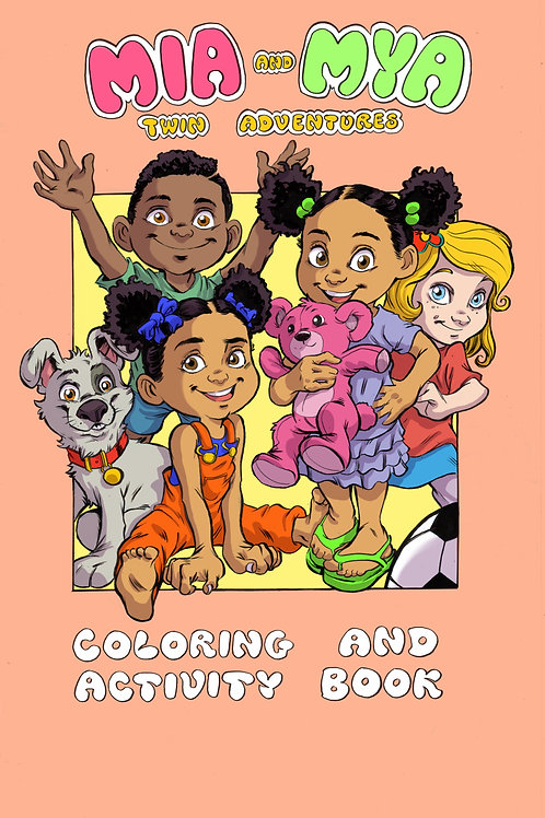Mia & Mya Coloring and Activity Book