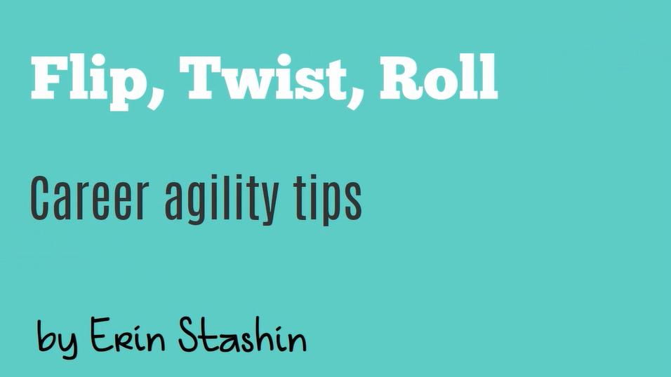 flip twist roll