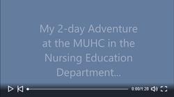 muhc nursing education