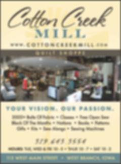 2019 Cotton Creek Mill ad-qrtr page.jpg