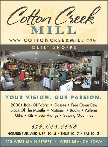 2019 Cotton Creek Mill ad-qrtr page.jpg