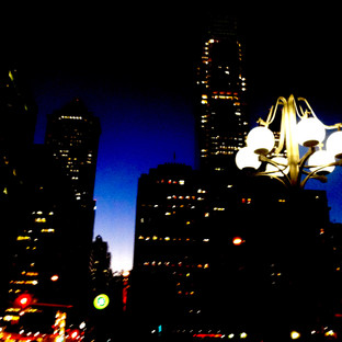 Center City Lamp Post