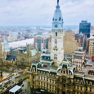 Sky view City Hall