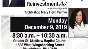 Faith Based Community Reinvestment Act Forum