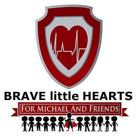 Brave little Hearts for Michael and Frie
