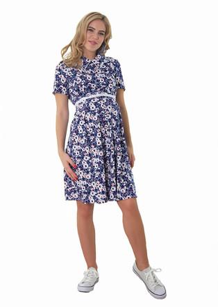 Платье поплин