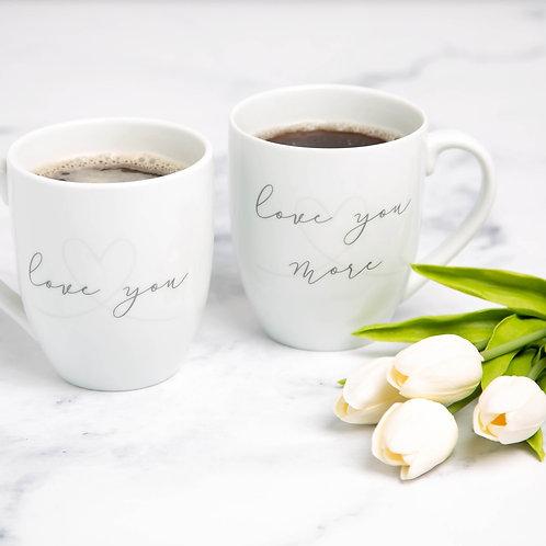 LOVE YOU, LOVE YOU MORE Mug Set