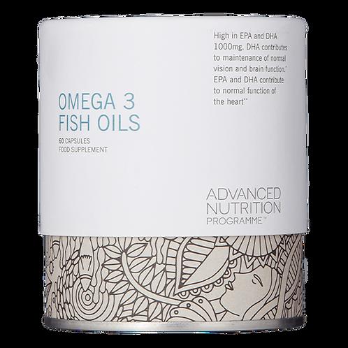 Omega 3 Fish Oil Supplement (60 Softgels)