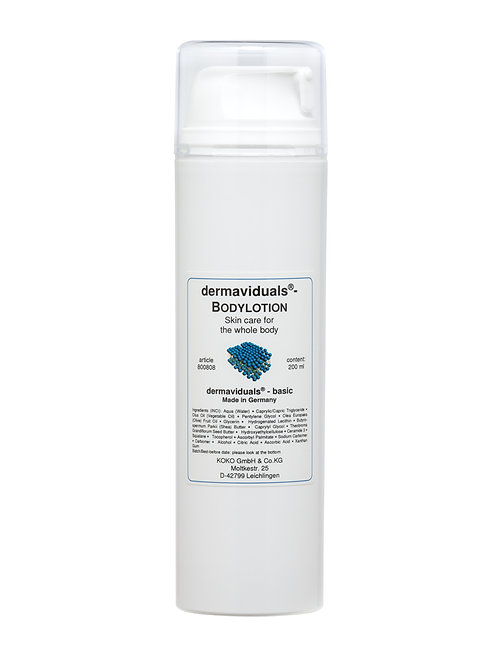 Dermaviduals Body Lotion 200ml