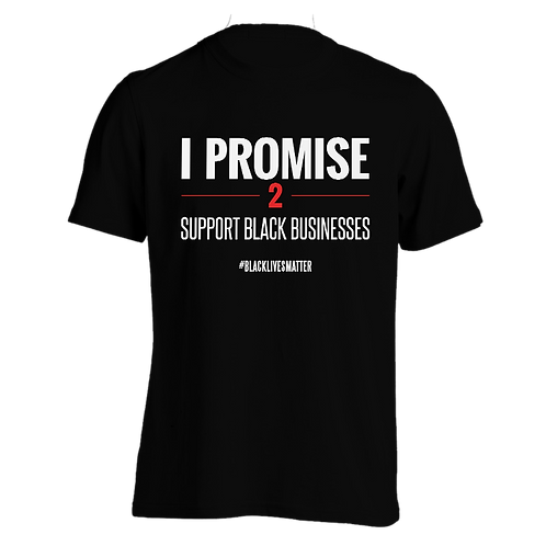 Support Black Businesses T-Shirt (Mens)