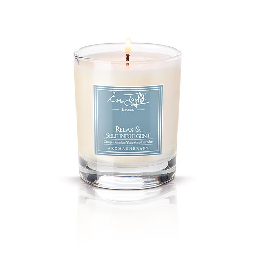 Relax and Self Indulgent Massage Candle