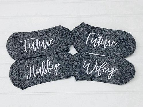 """""""Future Hubby"""" or """"Future Wifey"""" Socks"""