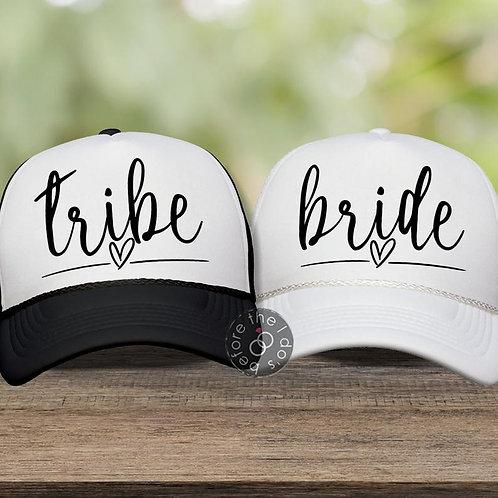 """Bride"" or ""Tribe"" Trucker Hat"