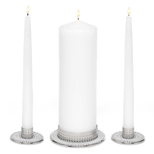 Vintage Pearl Unity Candle Stands