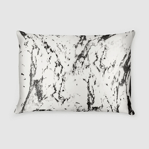 White Marble Qeen Size Zippered Pillowcase