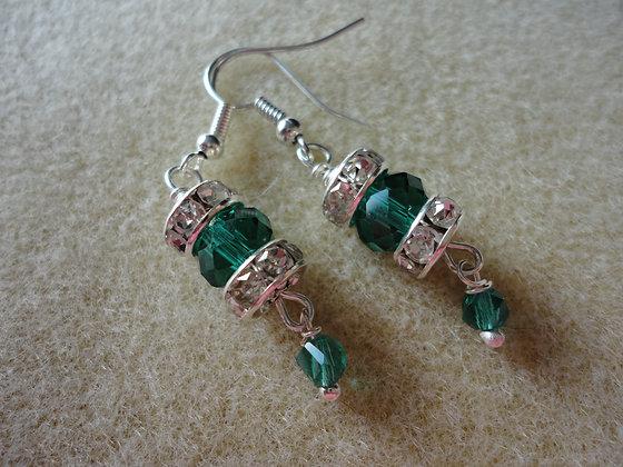 Rondelle Earrings/EW138