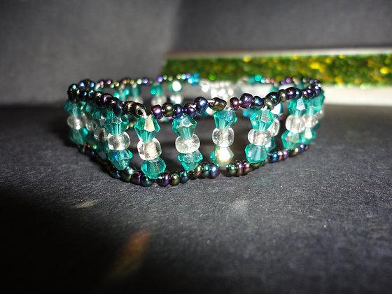 Turquoise Squared Bracelet/B138
