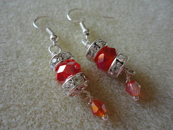Rondelle Earrings/ EW135