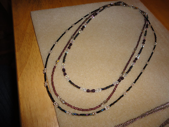 Triple Strand Necklace/ N125