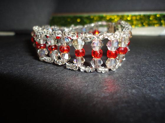 Orange Squared Bracelet/B139