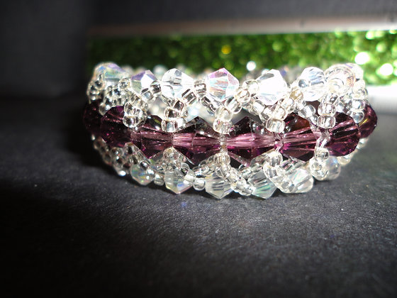 Crystal Circle Bracelet/B126