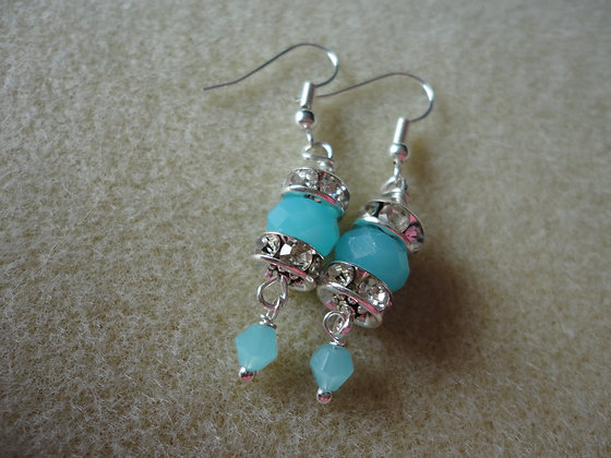 Rondelle earrings/EW136