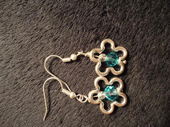 Flower Frame Earrings