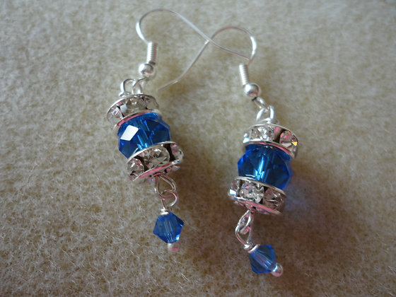 Rondelle Earrings/Ew137