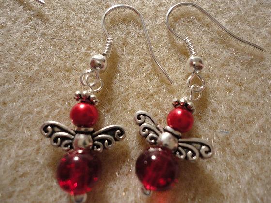Angel Earrings #04
