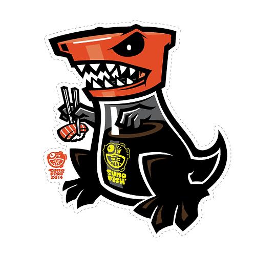 Shoyu T-Rex decal