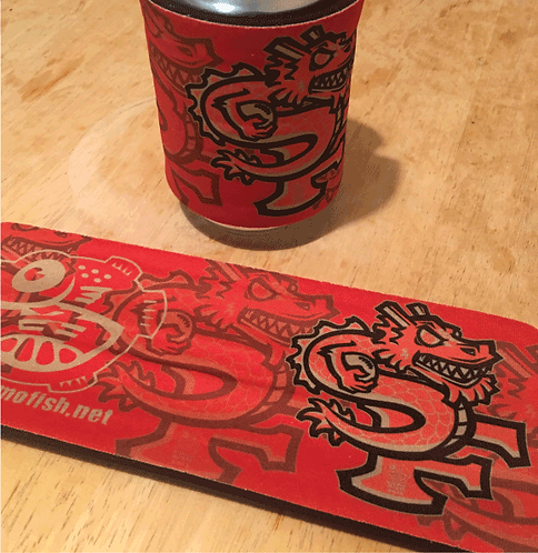 Niner Dragon Slap Koozie