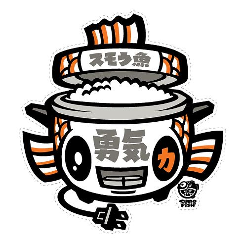 Koi Ricecooker Decal