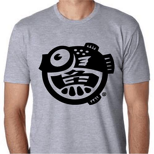 Logo-heather/black