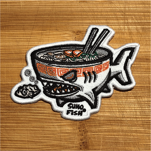Ramen Shark Patch