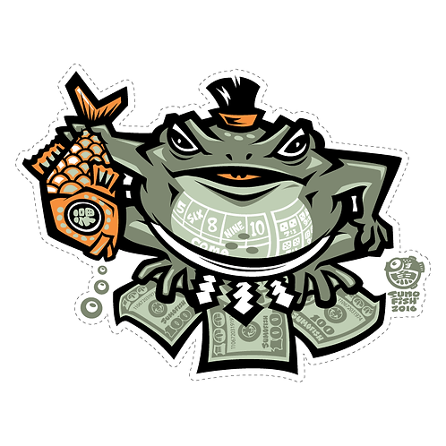 Sumofrog decal