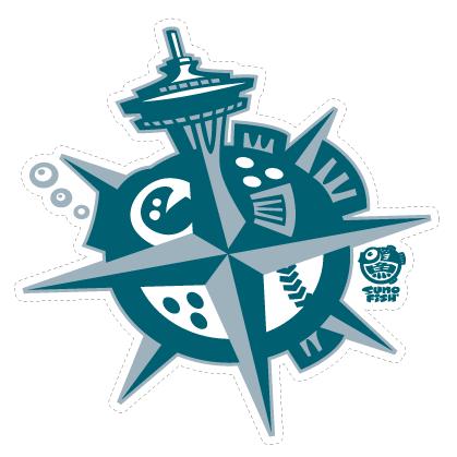 Seattle Fugu decal