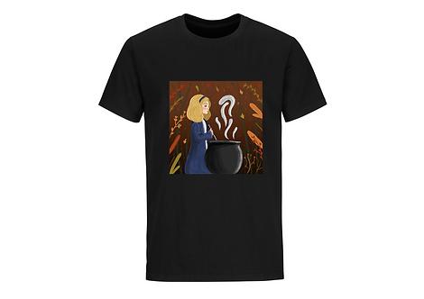 T-shirt Sorcière manches courtes
