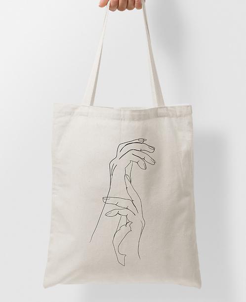 Tote Bag Hands