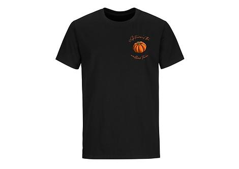 T-shirt citrouille manches courtes