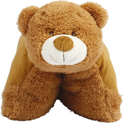 Coussin-peluche Ours