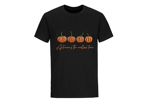 T-shirt citrouilles manches courtes