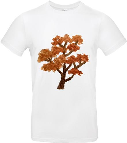 T-shirt Arbre Roux manches courtes